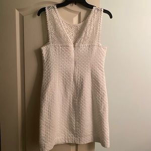 Lilly Pulitzer Dresses - Worn once! Lilly Pulitzer White Dress